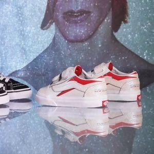 VANS x David Bowie Old Skool TODDLER Sneakers